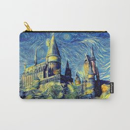 Hogwarts Starry Night Carry-All Pouch