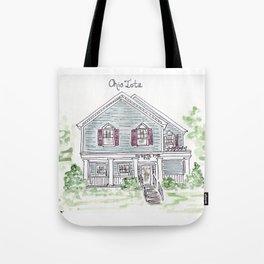 University of Dayton, Ohio Iota, Greek, House Tote Bag