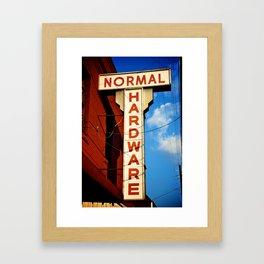Hardware Store Framed Art Print
