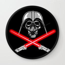 Vader's Bones Wall Clock
