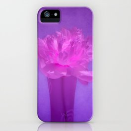 GLOWING PINK iPhone Case