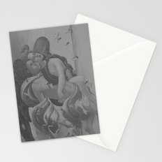 Black White Angels Stationery Cards