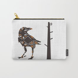 Totemic Crow Carry-All Pouch