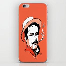 Composer Giacomo Puccini Italian Opera Ballet Madame Butterfly Turandot Tosca La Boheme Italy Art iPhone Skin
