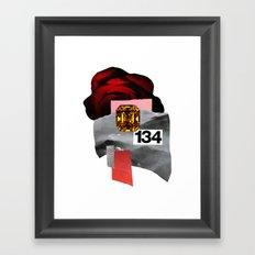 skyrose Framed Art Print