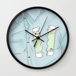 Technology Heartbreak Wall Clock