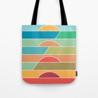 u2 Tote Bags featuring 4 Degrees by Rick Crane