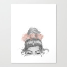 Sinking thoughts Canvas Print