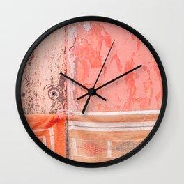 Marrakech Markets Wall Clock