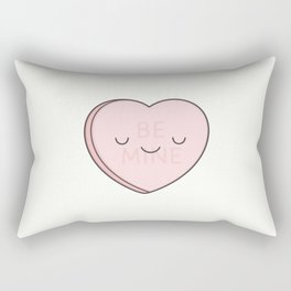 Pink Sweet Candy Heart Rectangular Pillow
