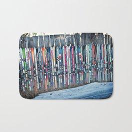 Skis Bath Mat