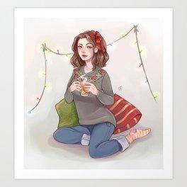 Tea and spice Art Print