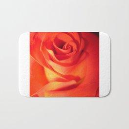 Sunkissed Orange Rose 10 Bath Mat