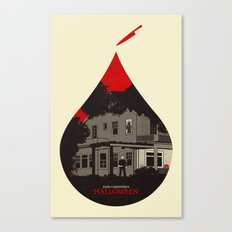 Horror Icons: Halloween Canvas Print