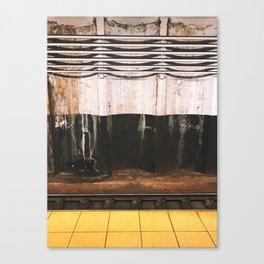 broad street line filth Canvas Print