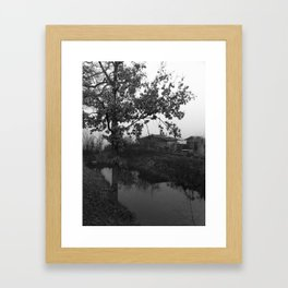 Rustic Villager Framed Art Print