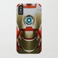 iron man iPhone & iPod Cases featuring IRON MAN Iron Man by Veylow