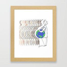 Kamilah Framed Art Print