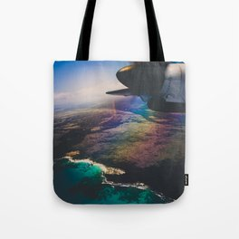 the air up there Tote Bag