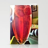 drink Stationery Cards featuring Drink by Wondrous Sky