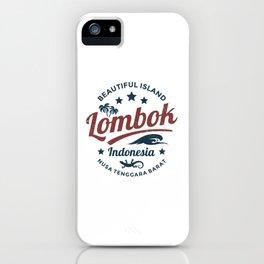 Lombok iPhone Case