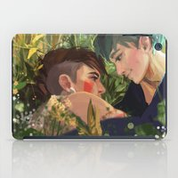 mononoke iPad Cases featuring Mononoke hime by Aleksandra Chabros aka Adelaida