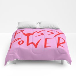 Pussy Power Comforters