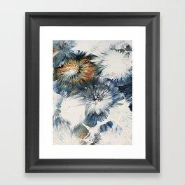 Under water Framed Art Print