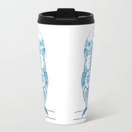 Henna Cockatiel - White background Travel Mug