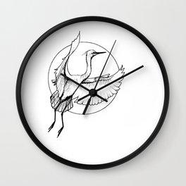 "Crane, ""The Release"" Wall Clock"