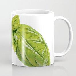 Basil great culinary herb family Lamiaceae mints food Coffee Mug
