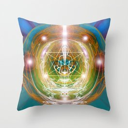 Lightbody upleveling Throw Pillow