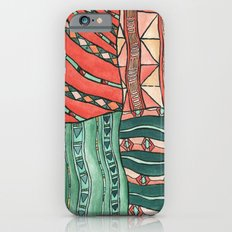 Patterned Piece #1 iPhone 6s Slim Case