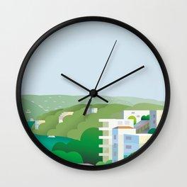 Acapulco Breeze Wall Clock
