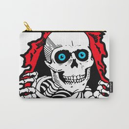 SKULL GIVE A SURPRISE Carry-All Pouch