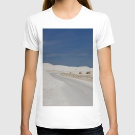 White Sand Reaches Up To The Horizon T-shirt
