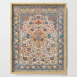 Isfahan Antique Central Persian Carpet Print Serving Tray