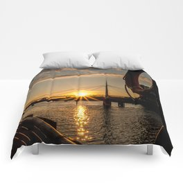 Save my sunshine Comforters