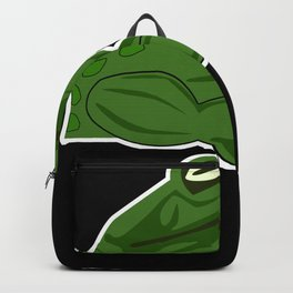 Frog Dumbbell Bodybuilding Bodybuilder Backpack