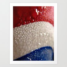 4th of July Condensation Art Print