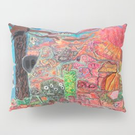 Akashic Library Pillow Sham