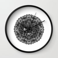 perfume Wall Clocks featuring Perfume by Sircasm