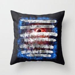 Blindsided Throw Pillow