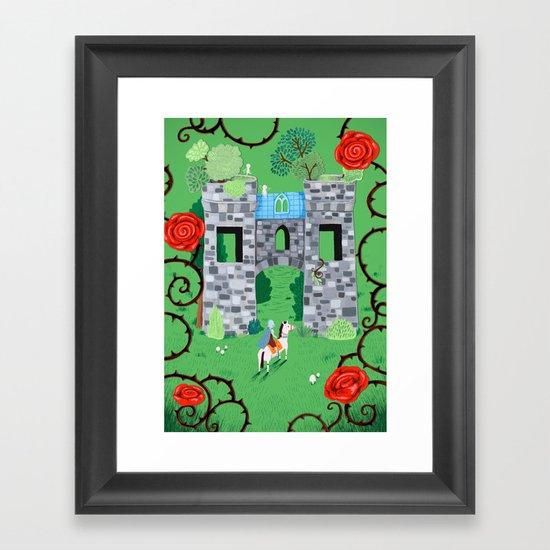 Gatehouse Framed Art Print