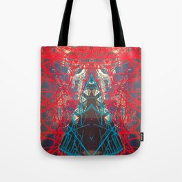 FX#505 - Kryptonian Oblongated Lines Tote Bag