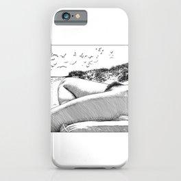 asc 967 - La plage de Draguey (Liberation on the beach) iPhone Case