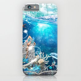 Enchanted Mermaid Sea iPhone Case