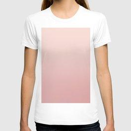 FREAK HEAT - Minimal Plain Soft Mood Color Blend Prints T-shirt
