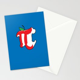 Apple Pi Stationery Cards