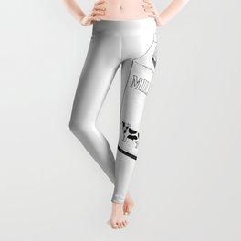 Milk Carton Sketch Leggings